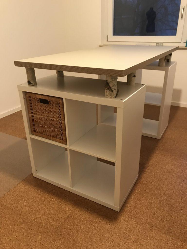 Ikea Hack Nahtisch Alex S Werkstatt Blog